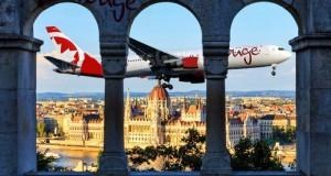 AirCanada-Rouge-toronto-budapest