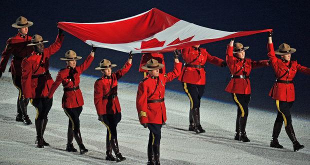 Tradicionális RCMP viselet