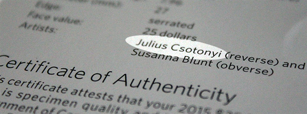 JuliusCsotonyi-canada-25-silver-dollar
