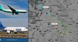 A SkyGreece reggel 8 órakor, az Air Transat pedig 10:21-kor landolt a Liszt Ferenc nemzetközi repülőtéren