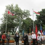Gyászszalag-napi megemlékezés a torontói Budapest Parkban (+video)