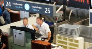 Check in Pult a budapesti Liszt Ferenc repülőtéren.  | Fotó: ILLUSZTRÁCIÓ