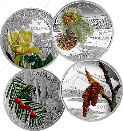 forrest of canada coins