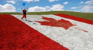 kanada-field-flag