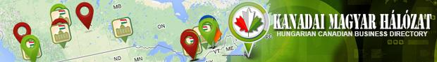 Első kanadai-magyar térképes üzleti és hirdető hálózat