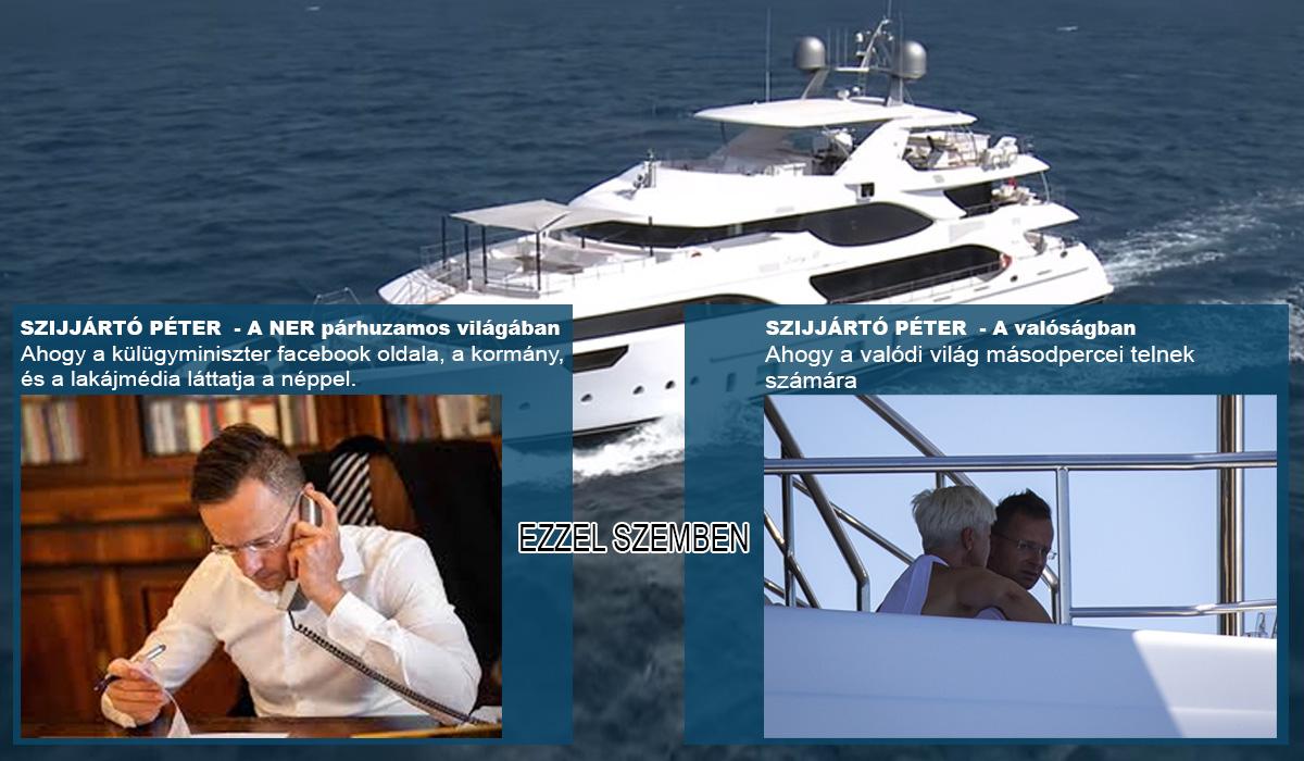 Szijjártónak 4 évig kéne dolgoznia, hogy egy hetet tölthessen a NER  oligarcha luxushajóján - ha nem korrupció lenne mögötte | Kanada Világa  hírportál