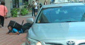 toronto cyclist hit